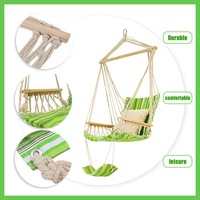 SGODDE Swing Hammock Hanging Chair Air Outdoor Garden Beach Patio Yard Tree 330Lbs Max Tree Hanging Hammocks Hot Sale