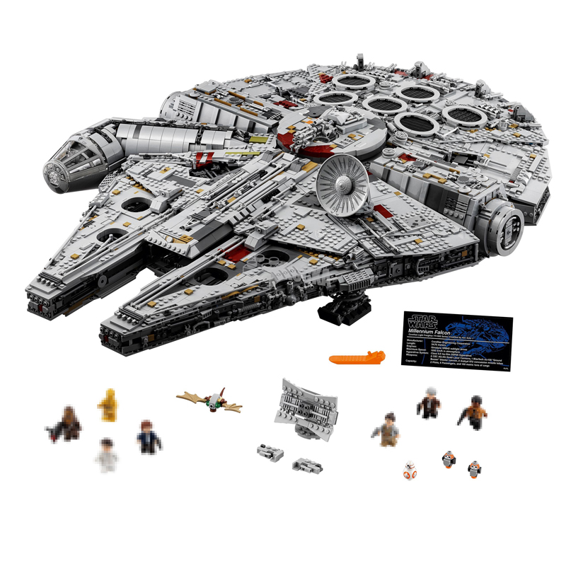 Lepin 05132 Star Series 8445Pcs Wars Ultimate Collector's Model Destroyer Building Blocks Bricks Legoed 75192 Toys For Children lepin 05035 star wars death star limited edition model building kit millenniums blocks puzzle compatible legoed 75159