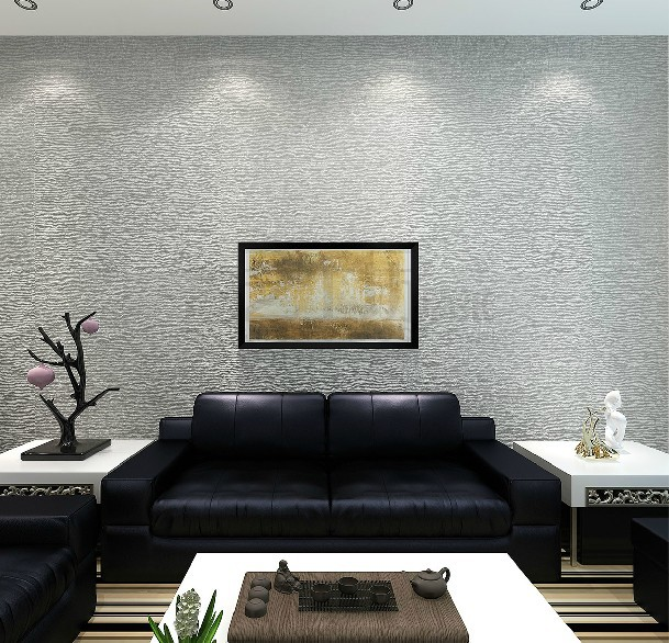 Modern Solid Striped Wallpaper Italian Deep Embossed Mural Wallpaper