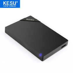 Original KESU 2.5'' External Hard Drive USB3.0 HDD Portable External HD Hard Disk for PC Mac Desktop Laptop Server (Black/White)