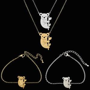 Sweet Koala Necklace Bracelet