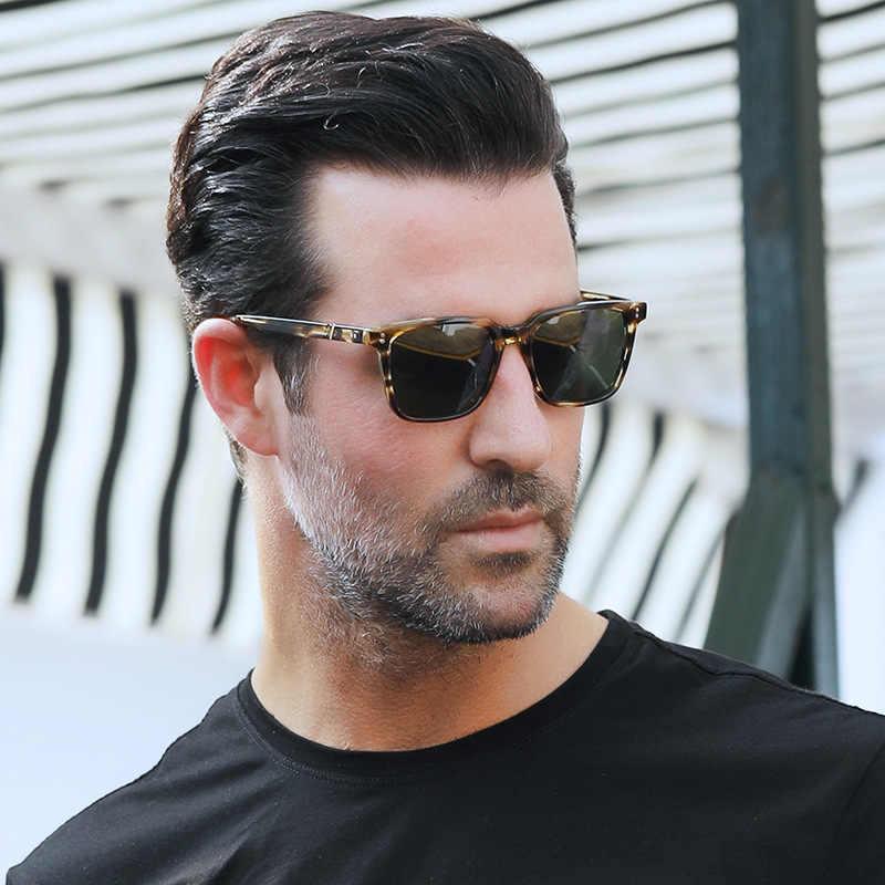 ea04c9a6e Vazrobe Acetate Sunglasses Men Women Polarized Sun Glasses for Man Driving  Tortoise Vintage Brand Designer Man's