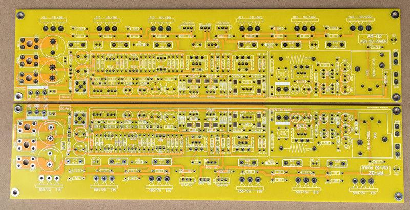 ZEROZONE One pair TO-3P Class A Amp PCB base on KRELL KSA50 MKII + aluminum  plate L8-2