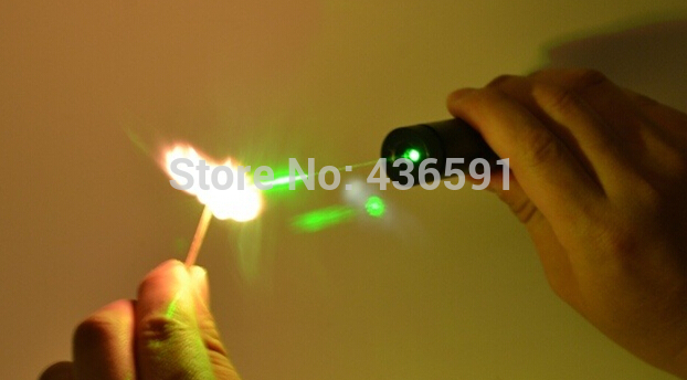 The Latest Green Laser Pointer 500000m 532nm High Power Pocusable Can Burn Match,Burn Cigarette,Pop Balloon, Lazer