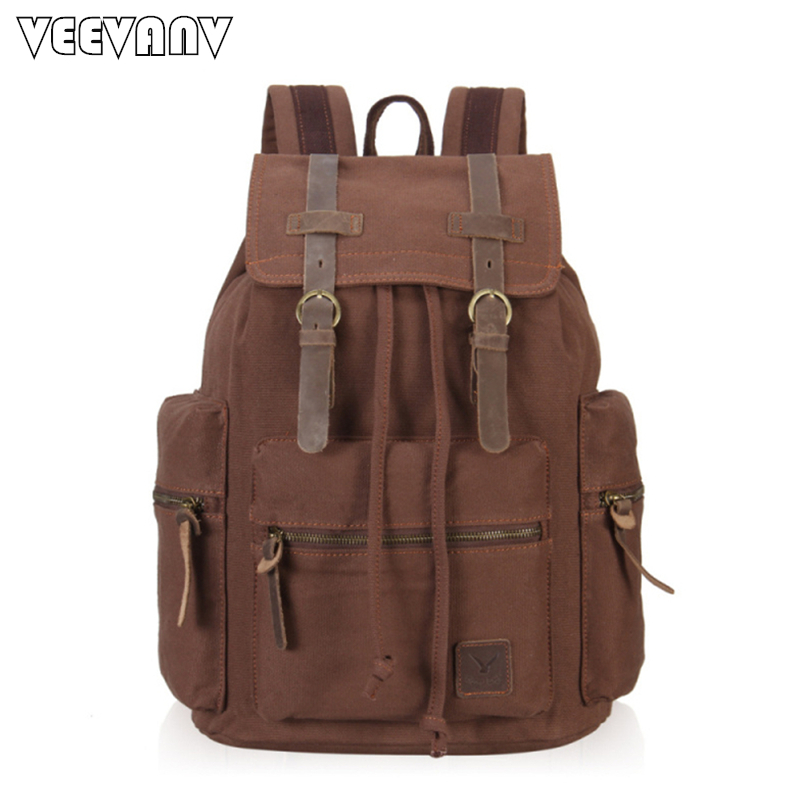 2017 Vintage Men 39 S Backpacks Women Women Rucksack Canvas Laptop Backpacks Backpacks Female
