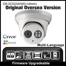 HIKVISION DS-2CD2342WD-I (4mm) D'origine D'outre-Mer Version de Sécurité Caméra 4MP IP67 extérieure CCTV Dôme IPC Mini Caméra Extérieure HD