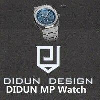 DIDUN Watches Men Leather Strap