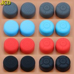 Image 1 - JCD 2 chiếc Silicone Chống Trượt Tăng Cường Cần Điều Khiển Dính Mũ Lưỡi Trai Nintend Switch NS Joy Con Bộ Điều Khiển Tăng cần điều khiển Cầm Bao Da