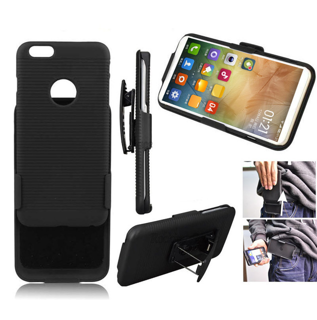 Running Belt Clip Shell Holster Man Hard Case Back Cover Holder for iPhone X XS MAX XR 8 7 6 Plus 5s Samsung S4 S5 S6 S7 S8 Plus