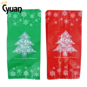 Image 4 - 20pcs Christmas Gift Bags Package Bag Xmas Gift Decor Christmas Tree Candy Gift Bag Navidad Christmas Decorations for Home