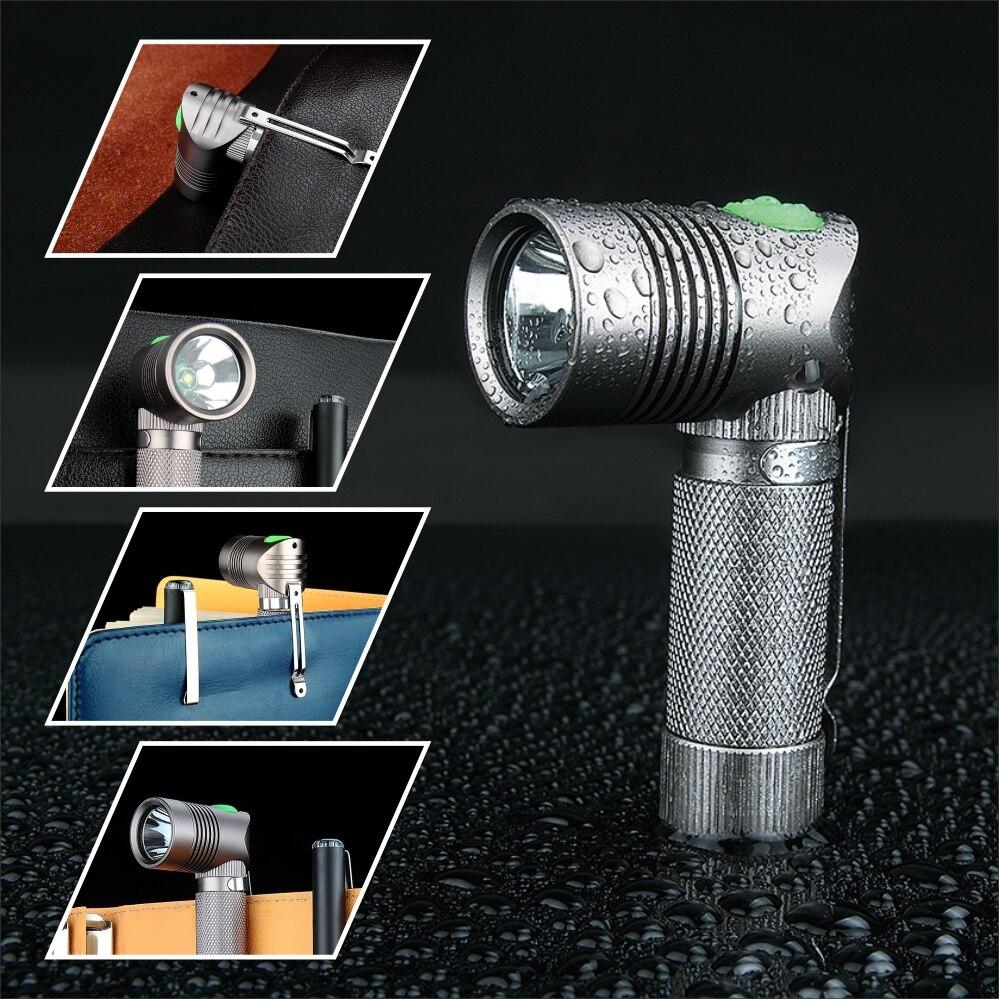 UniqueFire V4-A Super MINI LED zseblámpa szögletes alakú - Világítási kiegészítők