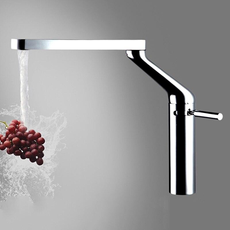 Nouveau et Unique brevet allemagne qualité Style cuisine robinet robinet mitigeur froid et chaud cuisine robinet mélangeur 100% laiton fait