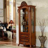 antique style wine cabinet o1091