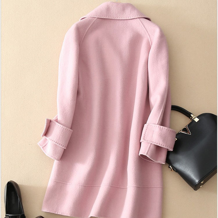 coats uk Picture - More Detailed Picture about Pink Wool Coat ...