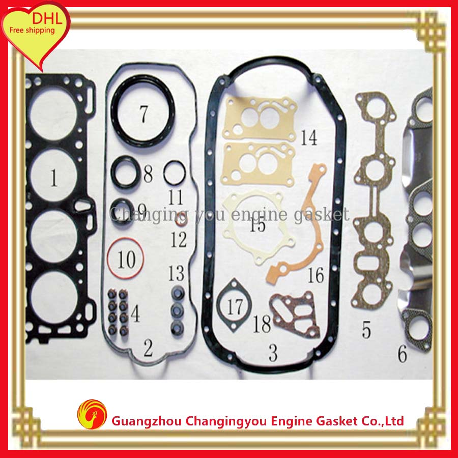 online buy whole isuzu engines parts from isuzu engines engine parts 4zb1 overhaul package full set dhl shipping for isuzu wfr engine gasket 5
