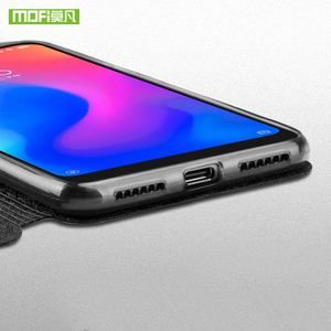 Image 5 - Mofi için deri Flip Case Xiaomi Mi A2 Lite kapak akıllı hafta uyku kabuk tam koruyucu Xiaomi 128gb Xiaomi 64gb Funda mat çapa