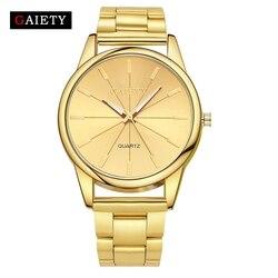 Gaiety brand women luxury steel gold watches 2017 new arrival fashion quartz watch ladies sport wristwatch.jpg 250x250