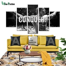 Modern Wall Art Canvas HD Prints Frame Modular Poster 5 Pieces Conquer Pictures Arnold Schwarzenegger Painting Home Decor