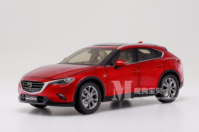 2016 All new MAZDA CX-4 1:18 car model SUV alloy diecast collection boy original Crossovers Red gift Japan car Toy