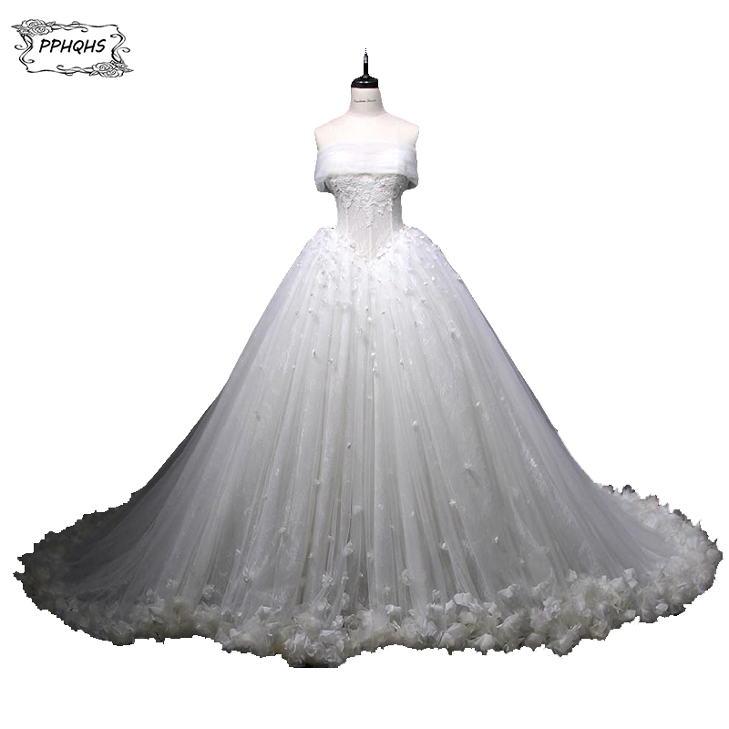 Real Photos Top Quality Wedding Dresses 2017 Plus Size