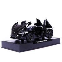 Acousto optic Echo Simulation Car Model of Speed and Lecken Passion Super runway Dodge Alloy Sports Car Model
