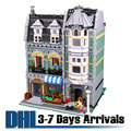 Kids Toys DHL Free Shipping Model Building Kits Shopping Store Blocks Plastic Children Gifts Toys Brinquedos 2017 15008
