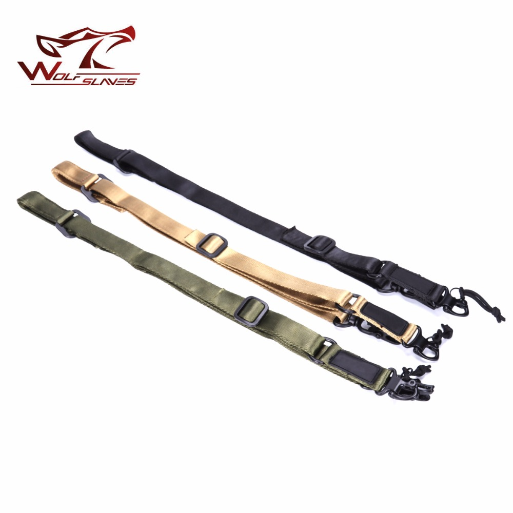 Free Shipping wolfslaves Top Quality MS2 Tactical Multi-Mission Rifle Sling Gun Strap System Mount Set tourbon tactical rifle gun sling with swivels shotgun carrying shoulder strap black genuine leather belt length adjustable