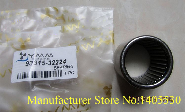 US $53 0 |Free shipping outboard motor part shaft needle bearings for  Yamaha New model 2 stroke 40hp boat engines 93315 32224 -in Boat Engine  from