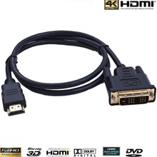 10pcs/lot 10FEET 3m HDMI to DVI Cable (Gold Plated)  V1.3 VIDEO HDTV LEAD 1080P
