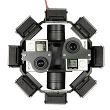 TG20 360 Derajat Panorama shooting Stabilizer VR Gimbal Untuk Mobil RC Quadcopter Drone Foto Udara Profesional gunung Gopro