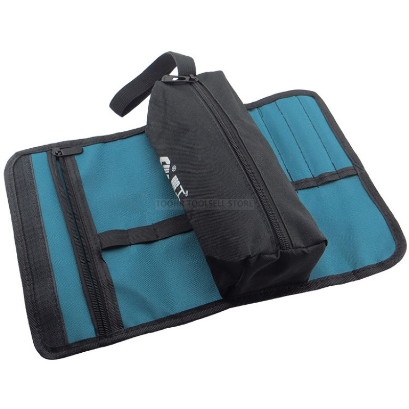 Multifunctional 600D Oxford Cloth Tool Bag +pocket Bag Reel Type Hardware Repair Electrician Carrying Storage Box Instrument Box