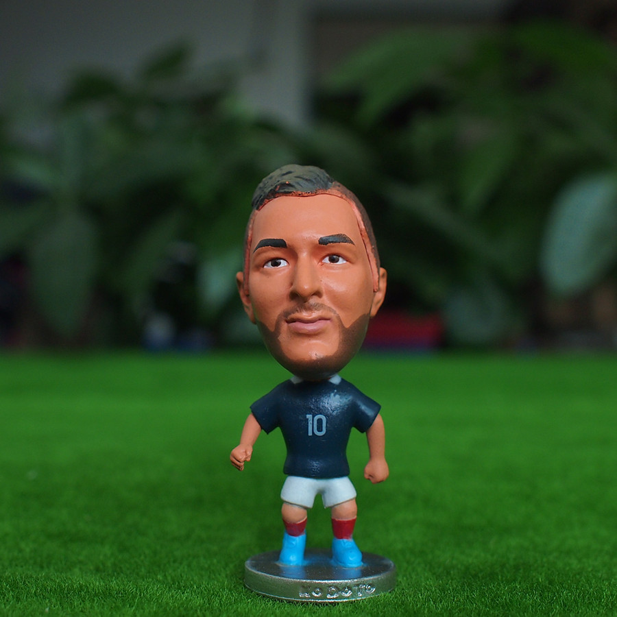 Football star Soccer Player Star 10# BENZEMA (FRA-2014) 2.5 Toy Doll Figure
