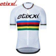 Pro team-Camiseta de manga corta para ciclismo, ropa para bicicleta con estampado aerodinámico, ligera, de alta calidad, 2021
