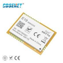 Приемопередатчик LoRa SX1276 SX1278 беспроводной радиочастотный модуль 868 МВт CDSENET E19 868M20S большой диапазон SMD 100 МГц приемник передатчика