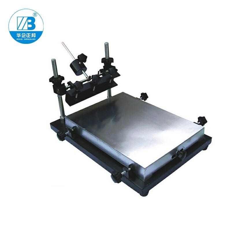 SMT Manual PCB Stencil Printer / PCB Printing Machine