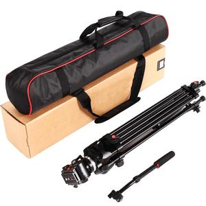 Image 5 - ASHANKS 0508A 5KG Professional Tripod camera tripod/Video Tripod/Dslr VIDEO Tripod Fluid Head Damping for video