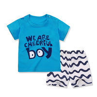 2PCS Suit Baby Boy Clothes Children Summer Toddler Boys Clothing Set Cartoon 2018 New Kids Fashion