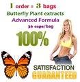 (3 bolsas) Fuerte mariposa planta silvestre extractos botánicos avanzado de adelgazamiento quema de grasa 100% eficaz para 108 días de suministro