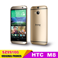 "One M8 Original HTC ONE m8 Unlocked Mobile phone 3G 4G Quad-Core 5.0""1920x1080 Dual 4MP Camera 16GB ROM WIFI Android Cell phones"