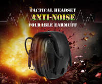 Ear Protectors Earmuff Tactical Headsets Shooting Hearing Protection noise reduction headphones Soundproof Ear Muff Anti noise