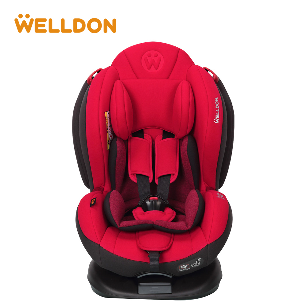 Welldon Baby Car Seat Flame Retardant Fabric Head Protection IOSfix Interface Suitable For Children Aged 0 - 6 Years ...