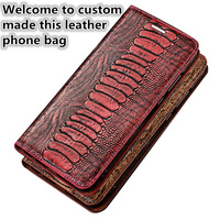 NC10 Genuine leather flip cover with card holder for Huawei Honor Play flip case for Huawei Honor Play phone case