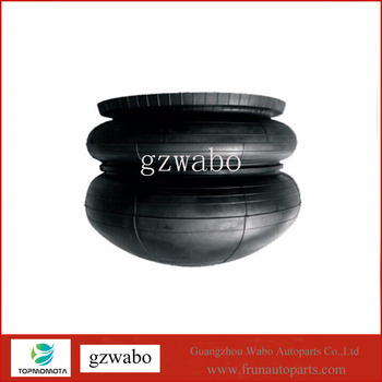 4 pcs rubber sleeves truck air suspension bag rubber air bellows spring fit for HINO 49711-1010