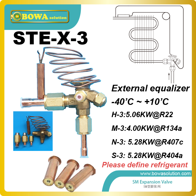 STE-3 interchangeable TX Angleway valve body, inlet size 3/8 inch, outlet size 1/2 inch, capillary tube length 1m stevens ste 21s ae 08