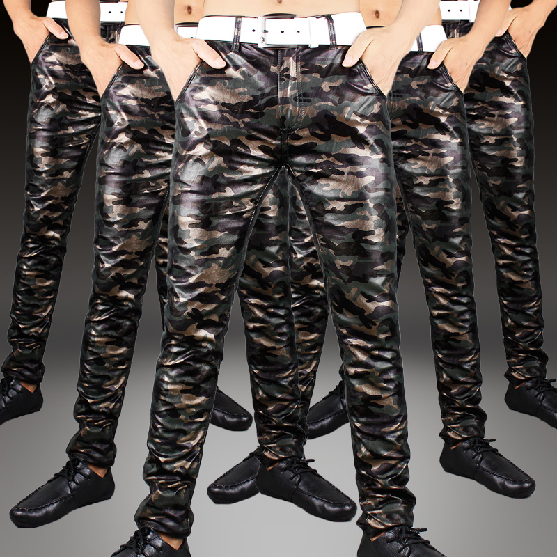 popular leather military pants buy cheap leather military. Black Bedroom Furniture Sets. Home Design Ideas