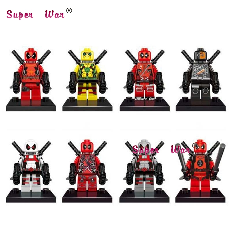 The Cheapest Price 80pcs Starwars Superhero New Comics Deadpool Building Blocks Action Bricks Friends For Boy House Games Kids Children Toys We Have Won Praise From Customers Model Building