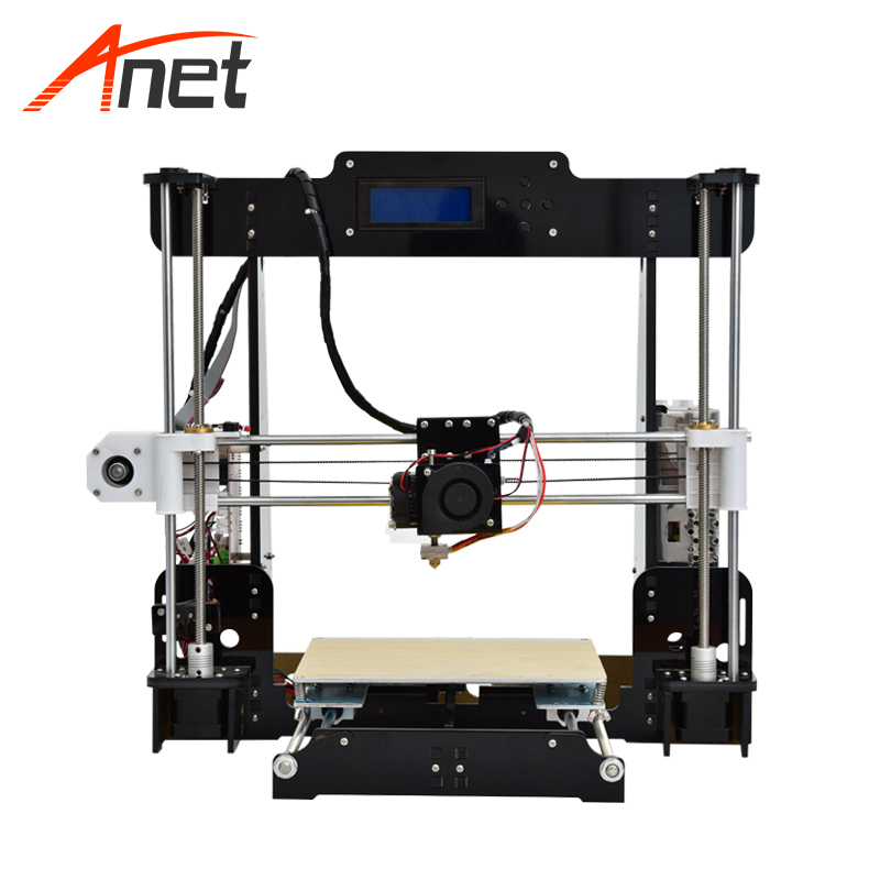Anet A8 Cheapest Most Popular 3d Printer High Accuracy Acrylic PLA 3d Printer 40-120mm/s Lead Screw High Performance Motors цены онлайн