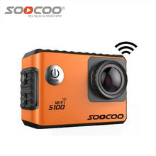 SOOCOO S100 4 К Действий Камеры WiFi Спорта Водонепроницаемый DV NTK96660 Mini Cam Встроенный Гироскоп с GPS Расширение (в том числе GPS Модель)