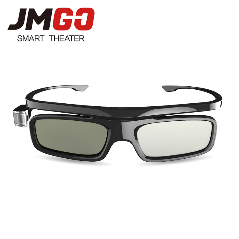 Universal DLP Link 3D Glasses Active Shutter Glasses with battery For JmGO V8/J6S XGIMI H1/H2/Z6 DLP 3D Laser Projector TV sg08 bt 3d active shutter glasses w bluetooth for 3d projector tv black