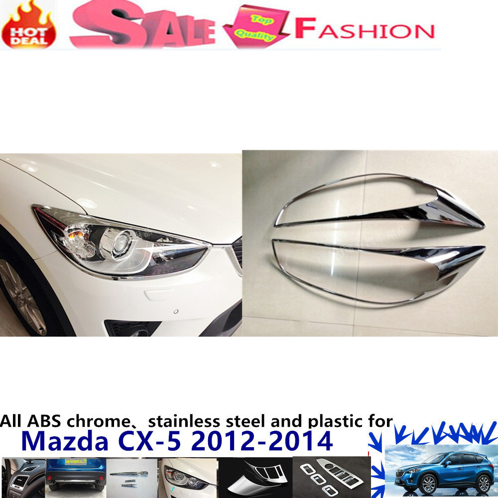 ᐂTop For Mazda CX-5 CX5 2012 2013 2014 car body front head Light ...